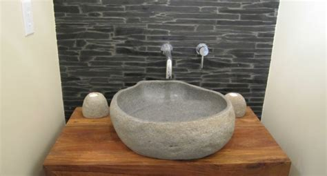 ideen fuer waschbecken aus naturstein archzinenet
