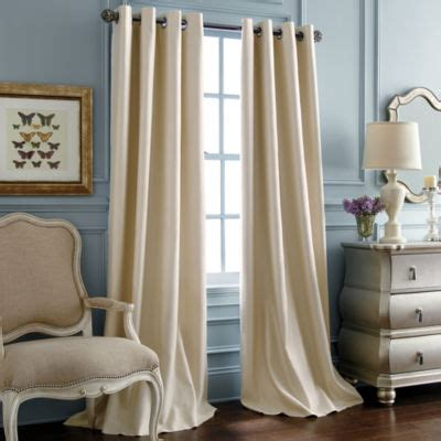 Jc Penney Curtains And Drapes - royal velvet supreme grommet top blackout curtain panel