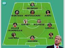 Os jogadores que terminam contrato com o Arsenal em 2018