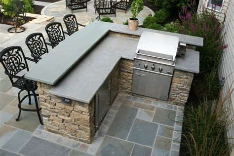 Outdoor Grill And Bar Design Plans