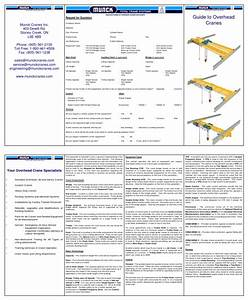 Guide To Overhead Cranes