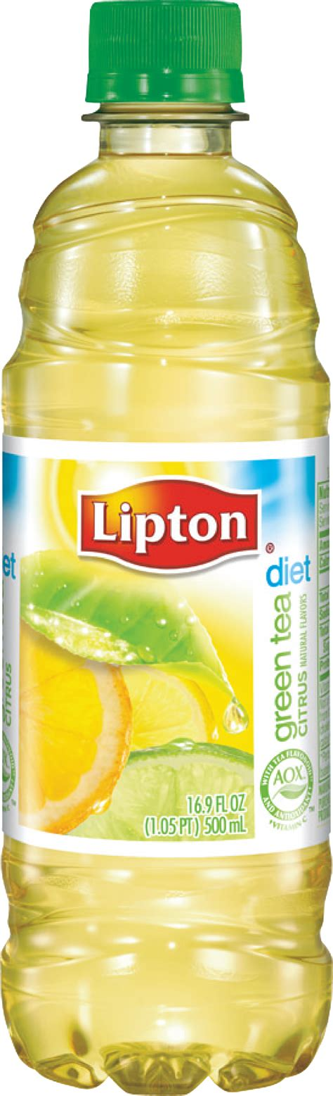 Lipton Green Tea Citrus Caffeine