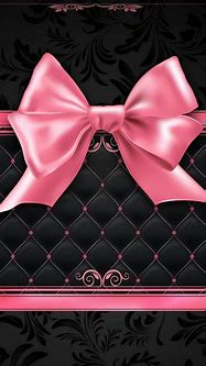 Pink and black   Bow wallpaper, Unicorn wallpaper, Apple ...