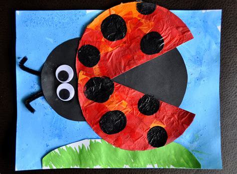 ladybug crafts for preschoolers 15 insect unit amp craft ideas 615