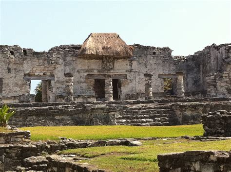 Touring the Tulum Mayan Ruins in Mexico