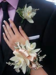 Prom Wrist Corsage and Boutonniere