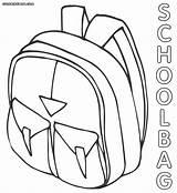 Rugzak Designlooter Schoolbag sketch template
