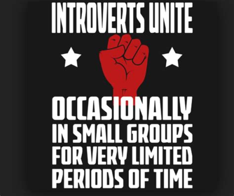 Introvert Meme - introverts unite occasionally