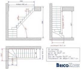 Calcul D Escalier Tournant by Calcul D Un Escalier 1 4 Tournant