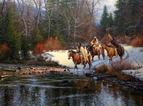 indian winter  mark keathley native americans