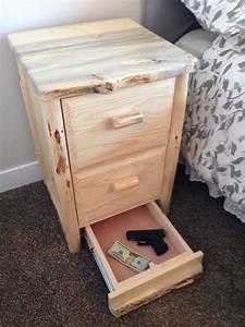 Hidden Stash Furniture - Lockable Gun Drawer StashVault