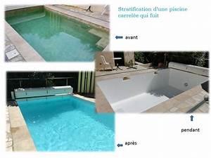 Renovation Piscine Carrelée : stratification d 39 une piscine carrel e qui fuit ~ Premium-room.com Idées de Décoration