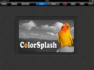 Color splash for ipad app review for Colorsplash ipad app review