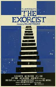 The Exorcist poster by markwelser on DeviantArt