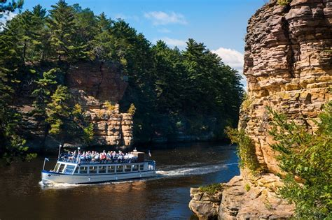 Boat Cruise Wisconsin Dells by Wisconsin River Beckons To Cruisers And Adventure