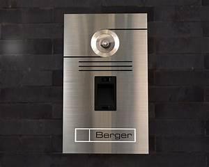 Edelstahl Video Türsprechanlage : t rklingeln von nano tec design video t rsprechanlage mit fingerprint ~ Sanjose-hotels-ca.com Haus und Dekorationen