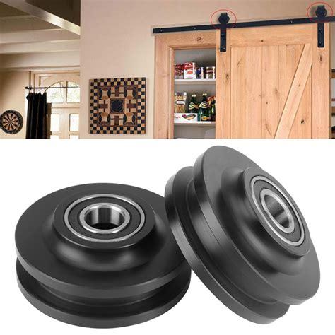 newest hot pom sliding barn door wheel closet