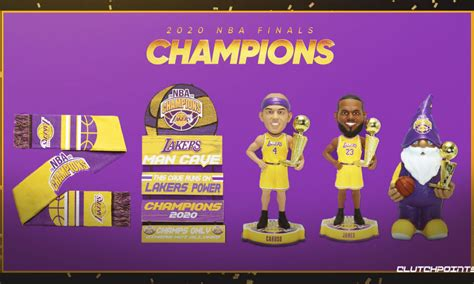Lakers 2020 NBA Championship Gift Guide, Buy Lakers