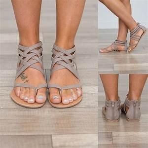 Hot Sale Heel Rome Sandals 2018 Flip Flops Breathable