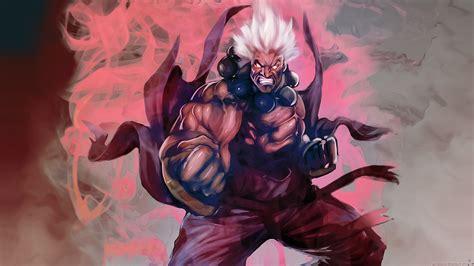 Video Games Street Fighter Oni Rage Akuma Artwork