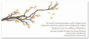 fall wedding invitations tree branches clipart clipground With wedding invitations trees branches