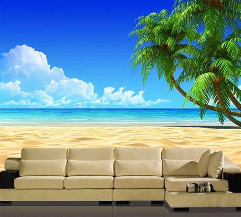 wall seamless stereo sea view  wallpaper ocean view
