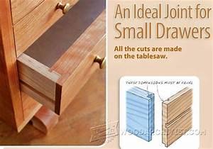 #1502 Drawer Joints • WoodArchivist