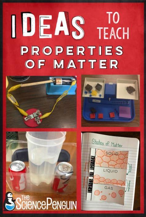 time  teach properties  matter properties  matter