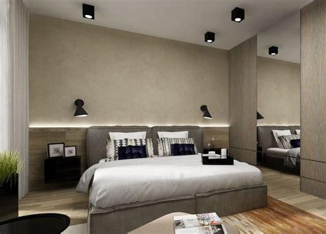 indirekte beleuchtung led schlafzimmer wand hinter bett holz wandpaneele led indirekte