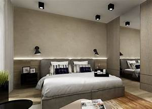Schlafzimmer Lampen Design : indirekte beleuchtung led schlafzimmer wand hinter bett holz wandpaneele led pinterest ~ Markanthonyermac.com Haus und Dekorationen