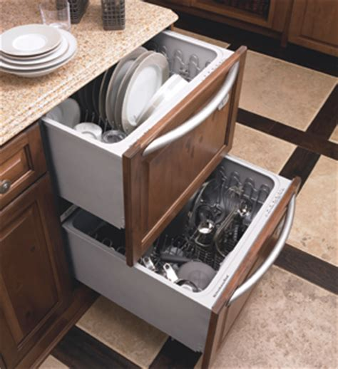 Refacing Kitchen Cabinet Doors Ideas - dishwasher in a drawer platinum cabinetry in las vegas nevada