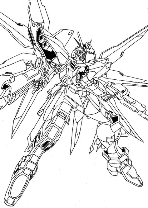 Coloring Gundam by Gundam 00 Coloring Pages Coloring Pages