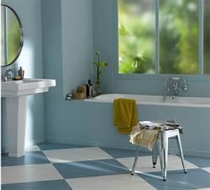 salle de bain bleu et gris finest carrelage salle de bain With quelle couleur mettre dans une cuisine