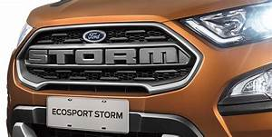 Ford Ecosport Boite Automatique : ford ecosport storm 4x4 with sunroof officially unveiled ~ Maxctalentgroup.com Avis de Voitures