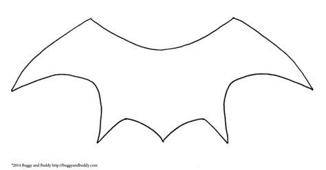 bat wing template bat wing template pdf zabawy billedkunst og ideer