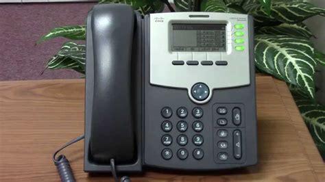 cisco spa phone   set  voice mail youtube