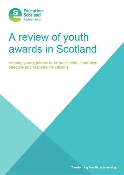 john muir award features  education scotland report