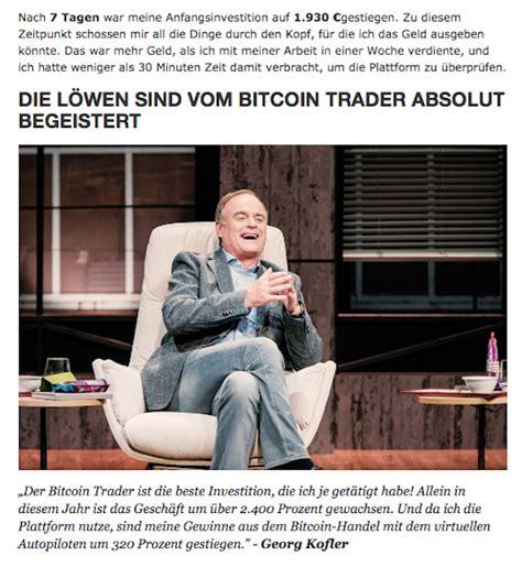 ✸probieren sie the news spy selbst aus! Miese Abzocke für Bitcoin-Trader mit Fake News im Zeit ...