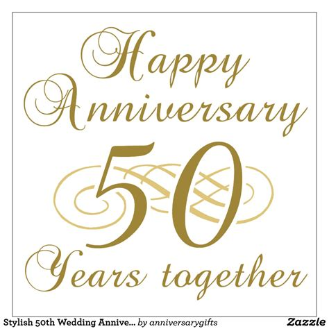 50 year anniversary happy 50th wedding anniversary clipart