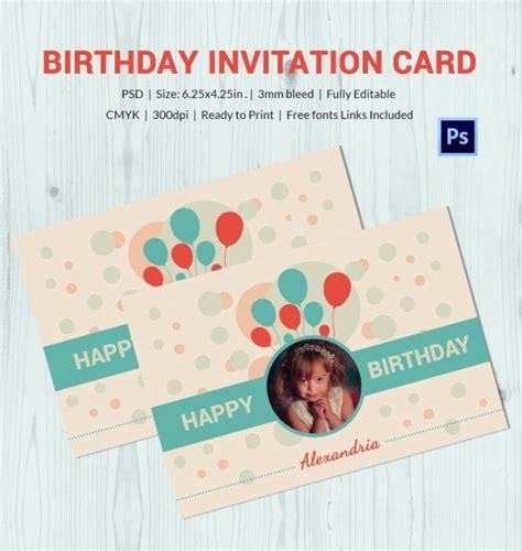 Birthday Card Template 9+ PSD Illustrator EPS Format