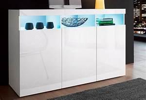 Sideboard Nussbaum Weiß Hochglanz : tecnos sideboard online kaufen otto ~ Bigdaddyawards.com Haus und Dekorationen