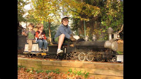 Ride On Backyard Trains by 2011 Live Steam Haunted Garden Railway Backyard
