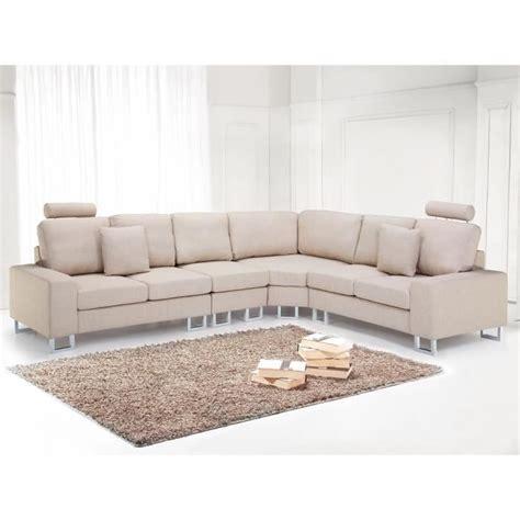 canapé d angle beige canapé d 39 angle canapé en tissu beige sofa stockholm