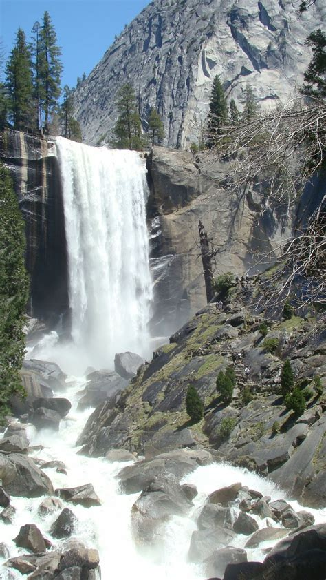 Vernal Falls Places Been Yosemite