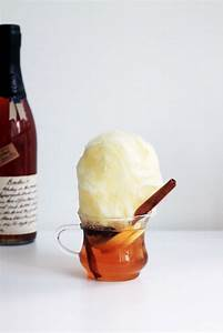 Lemon Hot Toddy  With Cotton Candy