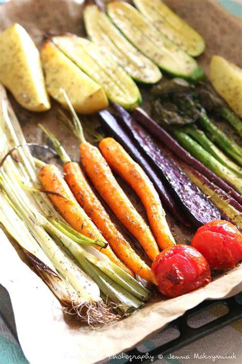 recette de legumes de printemps rotis au