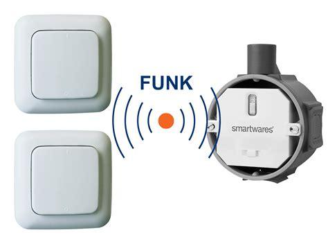 Lichtschalter Fernbedienung Nachrüsten by Funk Schalter Set Funk Einbauschalter 2 X Funk