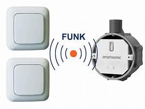 Fernbedienung Für Lichtschalter : funk schalter set funk einbauschalter 2 x funk ~ Watch28wear.com Haus und Dekorationen
