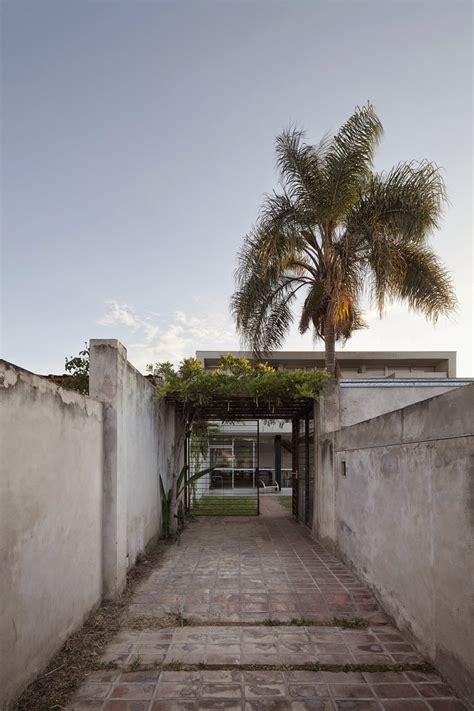 desain rumah  lantai minimalis  tata letak terbuka