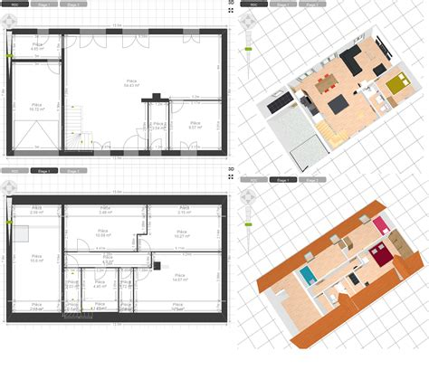 plan maison rdc 3 chambres plan maison rdc 3 chambres rustique u0026 craftsman 3